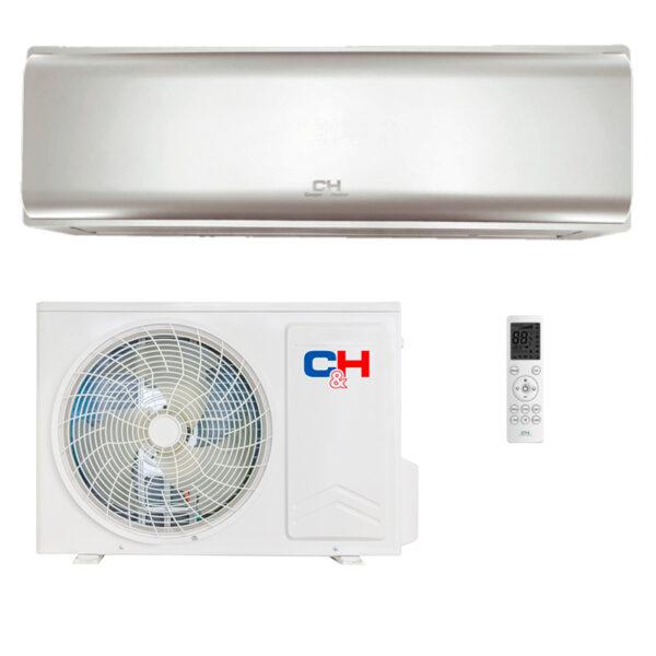 Кондиционер C&H CH-S09FTXN-PS (Silver) 1
