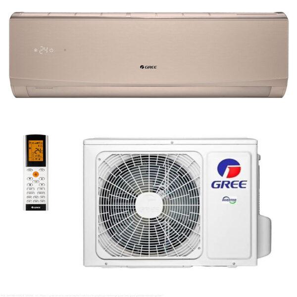 Кондиционер Gree GWH24QE-K6DND2E панель White/Golden/Silver (Wi-Fi) 3